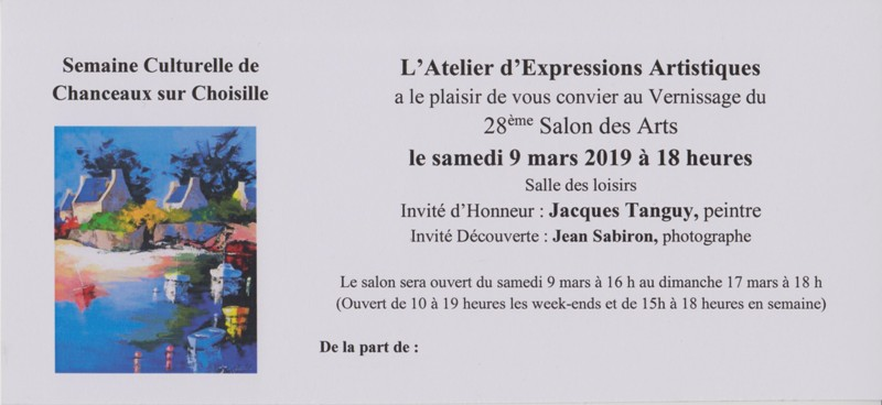 Carte d invitation